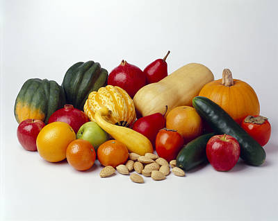 Agriculture - Autumn Fruits Poster