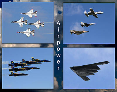 Air Power Poster by John Freidenberg