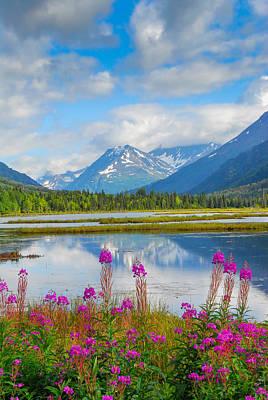 Alaskan Horizons Poster