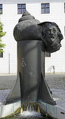 Albert Einstein Poster by Alfred Pasieka