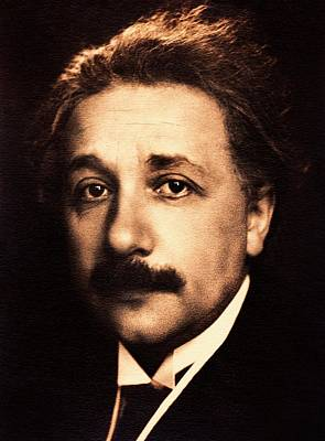 Albert Einstein Poster by American Philosophical Society
