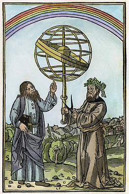 Albertus Magnus (1193-1280) Poster by Granger