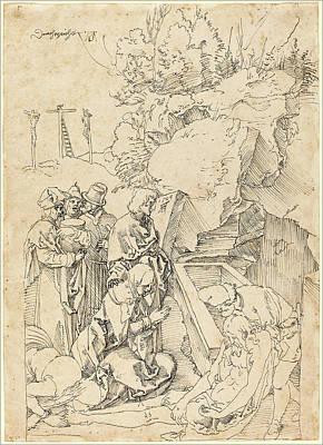 Albrecht Dürer German, 1471 - 1528, The Entombment Poster by Quint Lox