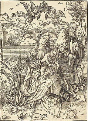 Albrecht Dürer German, 1471 - 1528, The Holy Family Poster by Quint Lox