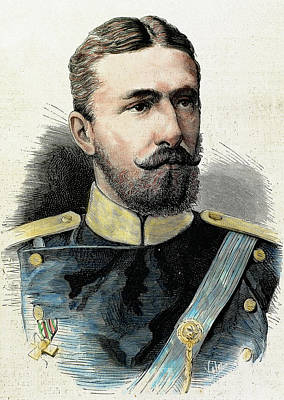 Alexander Of Battenberg (1857-1893 Poster by Prisma Archivo