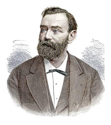 Alfred Nobel Poster