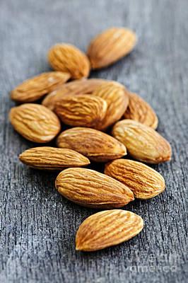 Almonds Poster by Elena Elisseeva