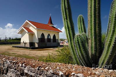 Alto Vista Chapel Aruba Poster by Amy Cicconi