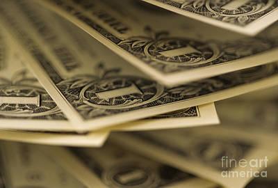 American Dollars Poster by Jim Corwin