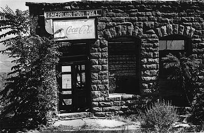 American Pool Hall Facade Version 1 Ghost Town Jerome Arizona 1968 Poster
