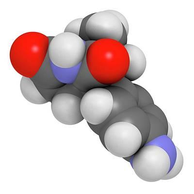 Aminoglutethimide Anti-steroid Molecule Poster