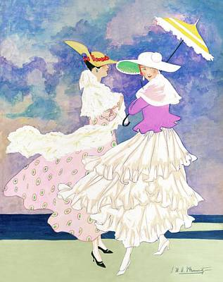 An Illustration For Vogue Magazine Poster