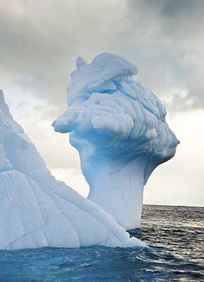 Antarctic Iceberg Poster by Science Photo Library