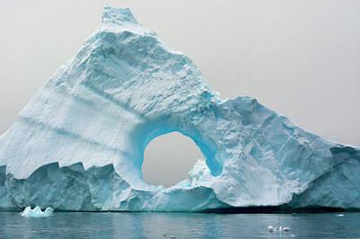 Antarctica Charlotte Bay Giant Iceberg Poster by Inger Hogstrom