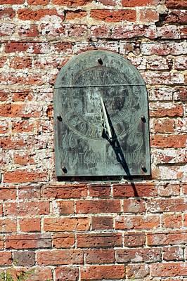 Antique Garden Sundial Poster by Jon Wilson