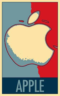 Apple In Hope Poster by Rob Hans