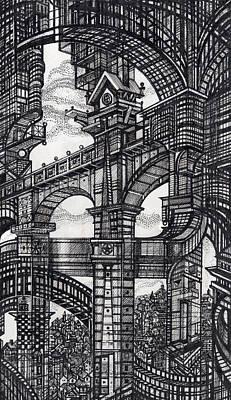 Architectural Utopia 5 Fragment Poster