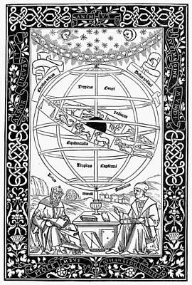Armillary Sphere, 1543 Poster