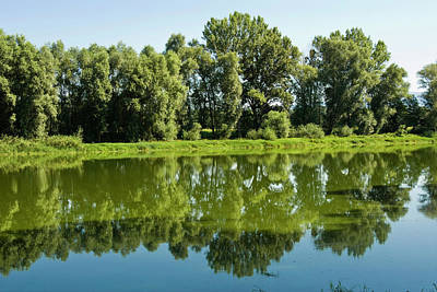 Arno River At Ponte Buriano, Ponte Poster by Nico Tondini