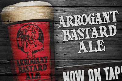 Arrogant Bastard Poster by Joe Hamilton