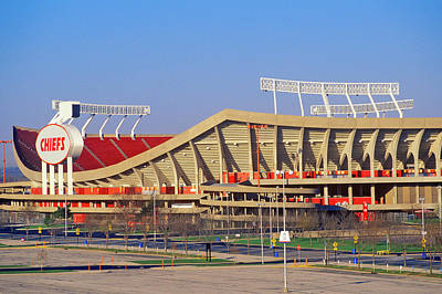 Arrowhead Stadium, Home Of The Kansas Poster