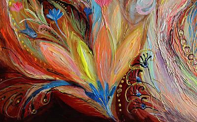 Artwork Fragment 54 Poster by Elena Kotliarker