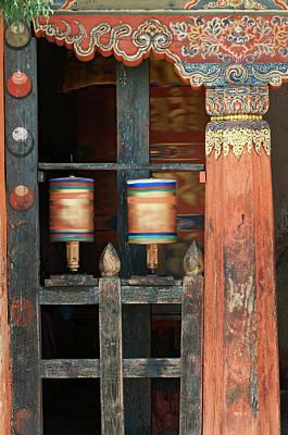 Asia, Bhutan, Bumthang Poster