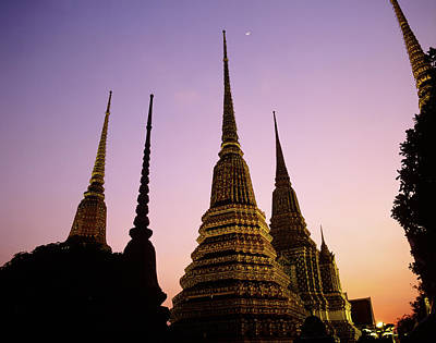 Asia, Thailand, Bangkok, Temple Wat Pho Poster by Tips Images