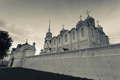 Assumption Cathedral In Vladimir Poster by Panoramic Images