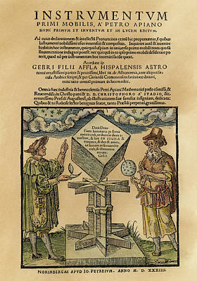 Astronomers, 1533 Poster by Granger