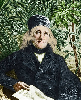 Augustin Saint-hilaire, French Botanist Poster