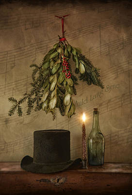 Auld Lang Syne Poster by Robin-Lee Vieira
