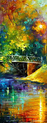 Aura Of Autumn 3 Poster by Leonid Afremov