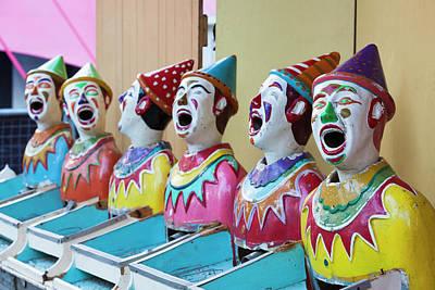 Australia, Adelaide, Rundle Park, Clown Poster