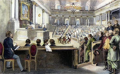 Austrian Assembly, 1848 Poster by Granger