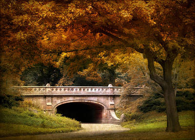 Autumn In The Park Poster by Jessica Jenney