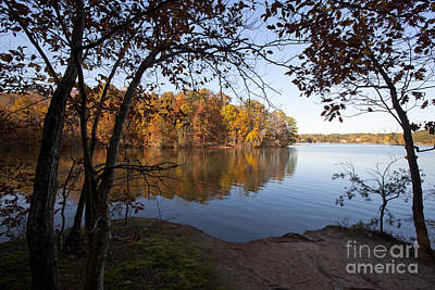 Autumn On Lake Norman Poster by Jonathan Welch