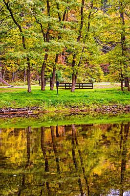 Autumn Reflection Poster by Steve Harrington