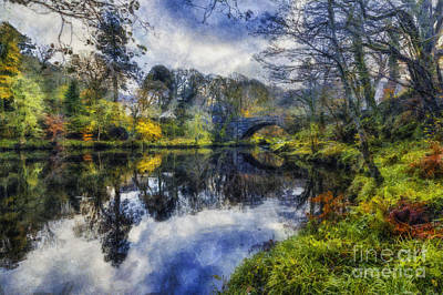 Autumn Reflections Poster by Ian Mitchell