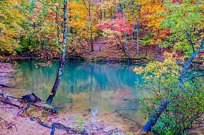 Autumn Season At A Lake Poster by Alex Grichenko