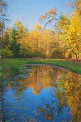 Autumn Splendor Poster by Kim Hojnacki