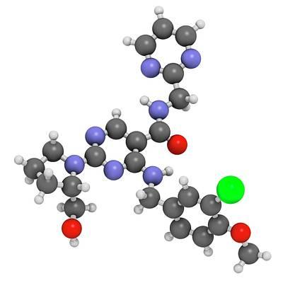 Avanafil Erectile Dysfunction Drug Poster by Molekuul
