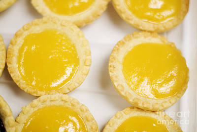 Baked Lemon Tarts Poster by Jorgo Photography - Wall Art Gallery