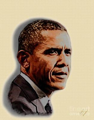 Barack Obama Poster by Charles Thayer