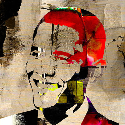 Barack Obama Poster by Marvin Blaine