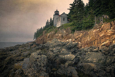 Bass Harbor Head Light II Poster