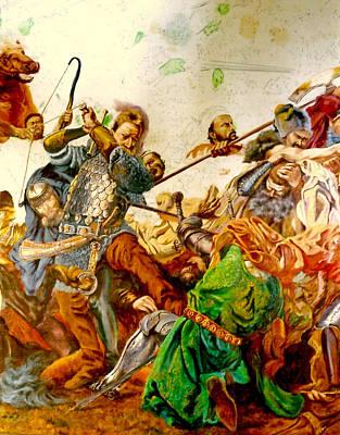 Battle Of Grunwald Poster by Henryk Gorecki