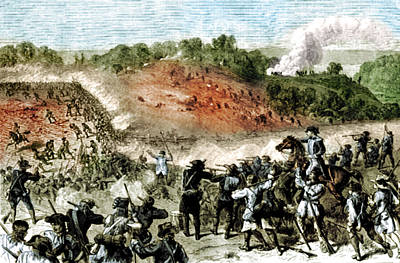 Battle Of Harlem Heights, 1776 Poster by Science Source