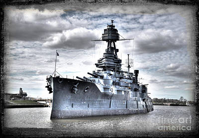 Battleship Texas Poster by Savannah Gibbs