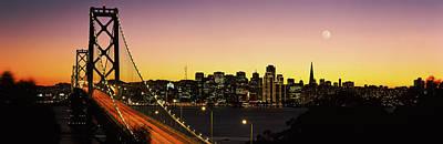 Bay Bridge San Francisco Ca Usa Poster